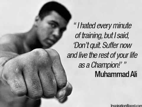 Great Inspirational Muhammad Ali Quotes we can apply into our