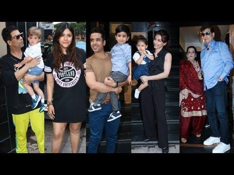 Tusshar Kapoor Celebrates Son Laksshya's 3rd Birthday, Inaaya Kemmu & Yash Johar Attend Party