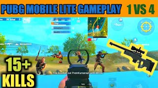 """PUBG MOBILE LITE GAMEPLAY