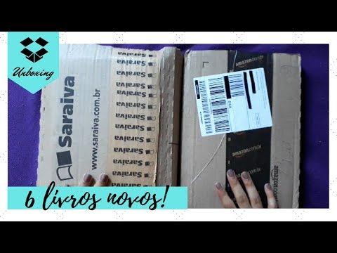 UNBOXING: SARAIVA E AMAZON | PROMOÇÃO DIA DA MULHER + SURPRESA | Livraneios