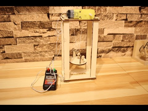 How to make an Electric lift by laser cutter