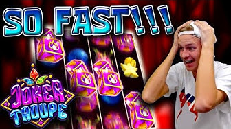 Last Spin HUGE WIN on Joker Troupe! (Red Joker Free Spins)