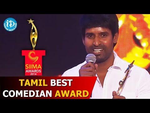 SIIMA 2014 - Tamil Best Comedian Award | Soori | Varuthapadatha Valibar Sangam Movie