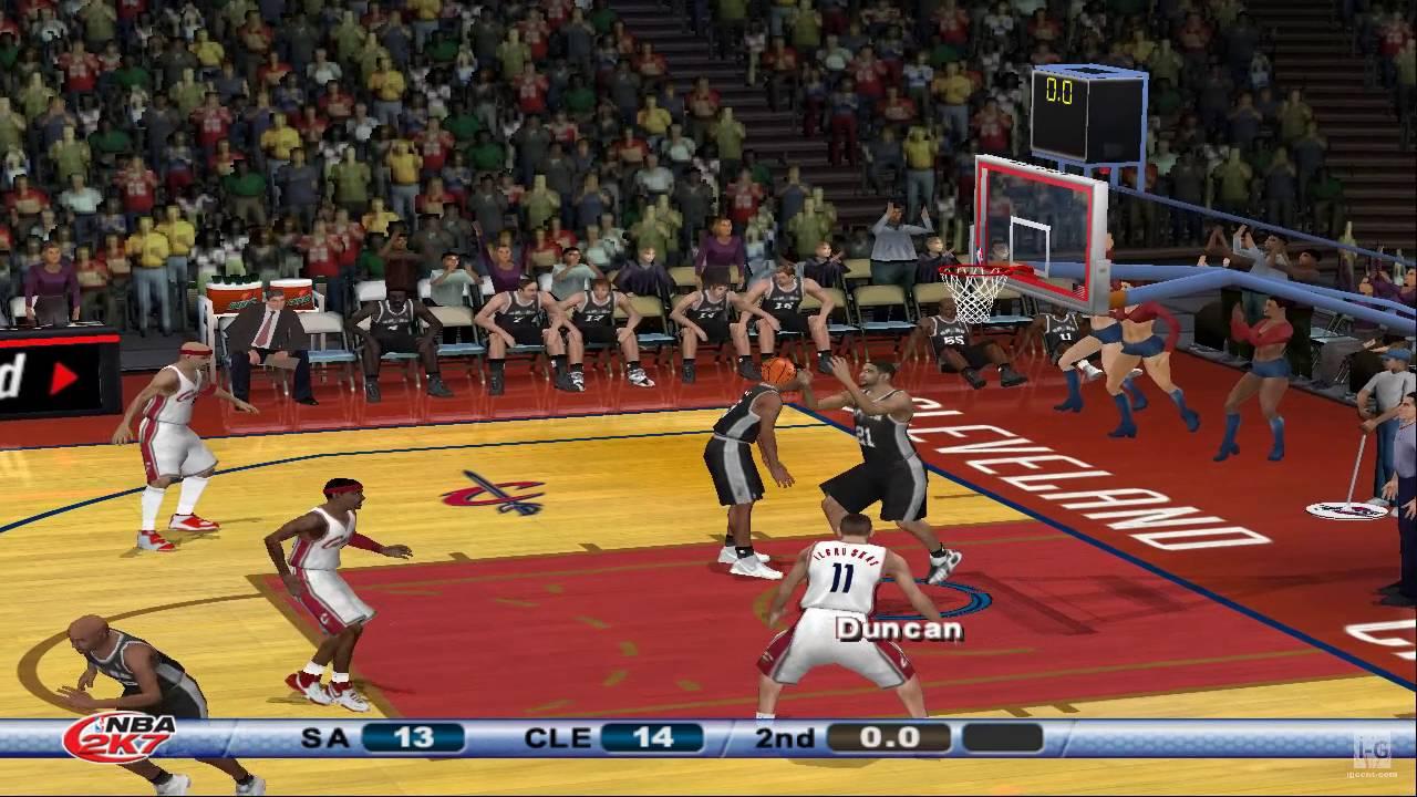 NBA 2K7 PS2 Gameplay HD - YouTube