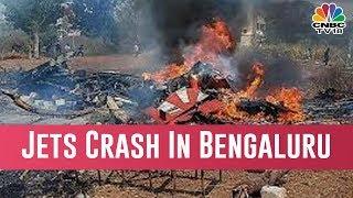 Pilot Killed As 2 Surya Kiran Jets Crash In Bengaluru During The Rehearsal