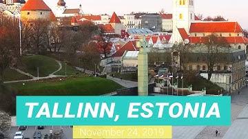 Tallinn, Estonia. Webcam City View Today