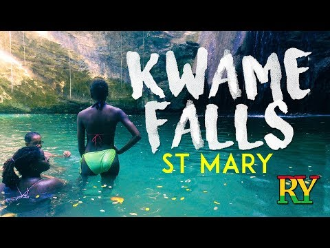 Kwame Falls | St Mary hiking | Jamaica | Roaming Yardy