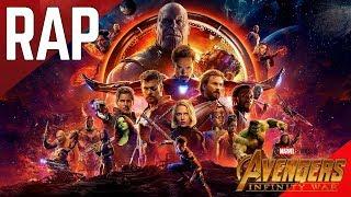 Rap De Avengers Infinity War EN ESPAÑOL (MARVEL STUDIOS) || Frikirap || CriCri :D