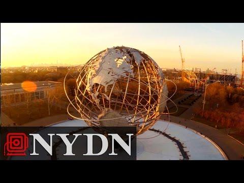Drone Flight Through New York's Five Boroughs