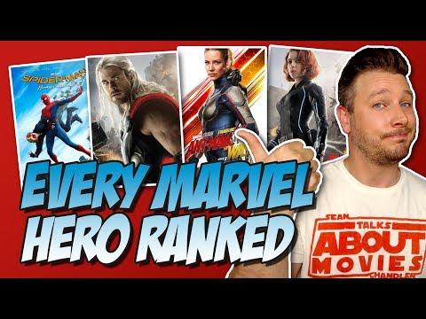 Every MCU Hero Ranked!
