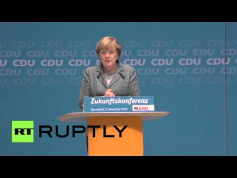 Germany: Economic migrants have to return home, says Merkel