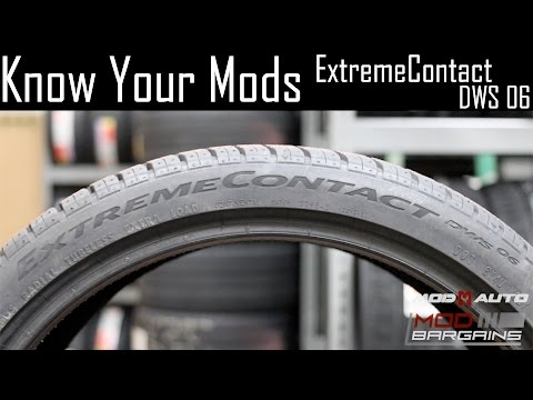 Know Your Mods Ep5 : Tires - Continental ExtremeContact DWS06