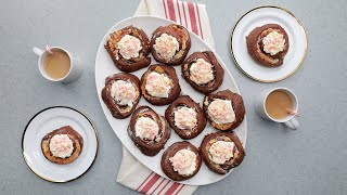 Peppermint Bark Sweet Rolls // Presented by LG USA