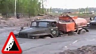 Бездорожье. Ужасы сибирских дорог