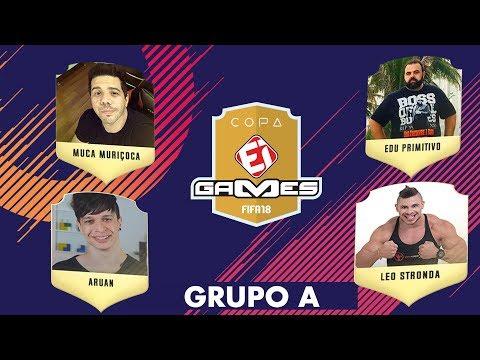 MUCA MURIÇOCA X EDU PRIMITIVO e ARUAN FELIX X LEO STRONDA  - COPA EI GAMES DE FIFA 18