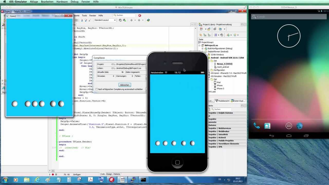 Tutorial: 3D Click and Move in FireMonkey XE5 (Delphi XE5) on Win, iOS and  Android