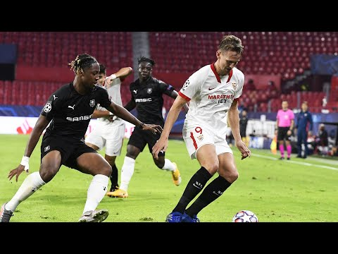 Resumen Sevilla FC - Stade Rennes FC J2 Fase de Grupos Champions League 20/21