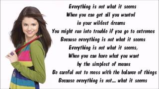 Like me on facebook! https://www.facebook.com/karaokeinstrumental selena gomez - everything is not what it seems karaoke / instrumental with lyrics screen