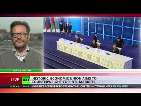 'Eurasian Economic Union a huge wake-up call for US and its power'