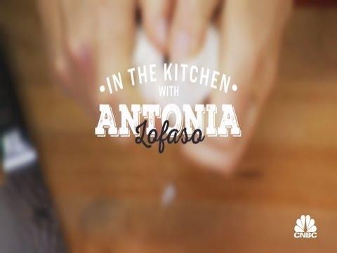 In The Kitchen With Antonia Lofaso: Traditional Eggnog Martini