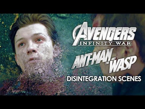 Disintegration Scenes | Avengers: Infinity War (2018) and Ant-Man and the Wasp (2018)
