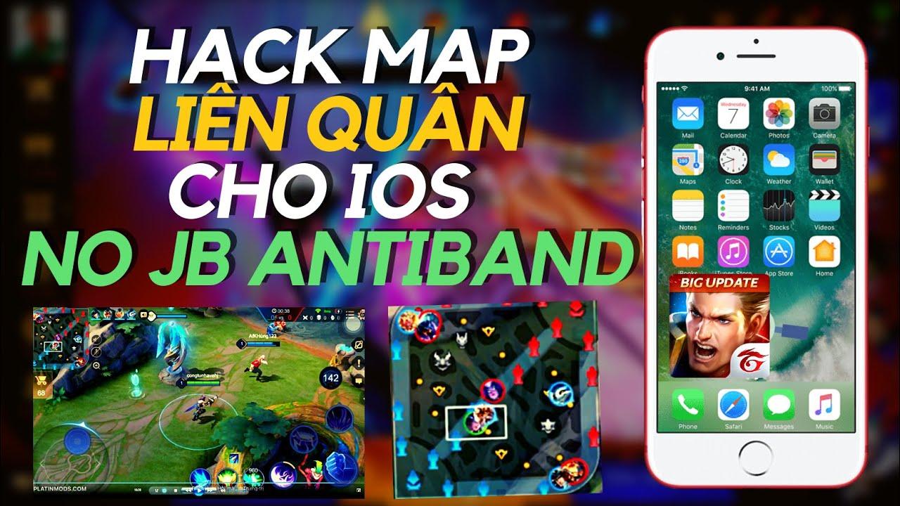 Hướng dẫn cài Hack Map Liên Quân Mới nhất cho IOS ko cần Jaibreak  AntiBand (NEW) I Cày hạng LQ