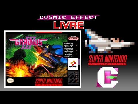 Gradius III Com Chip SA-1 Direto Do Super Nintendo! | CFX Livre
