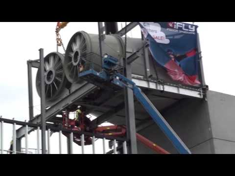 """iFLY Downunder """"Indoor Skydiving"""" Construction Diary #8"""