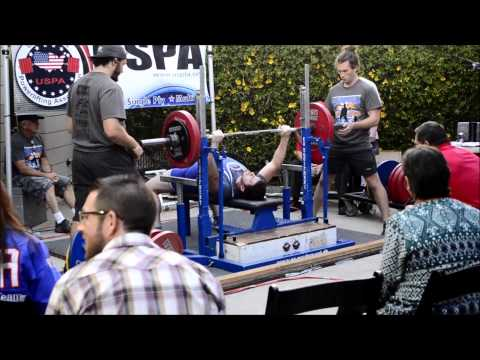 First Power Lifting Meet | 1201 Total | Santa Barbara Open