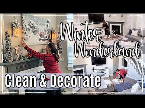CHRISTMAS CLEAN + DECORATE WITH ME 2019 :: AFTER DARK CLEANING MOTIVATION :: CHRISTMAS HOME TOUR