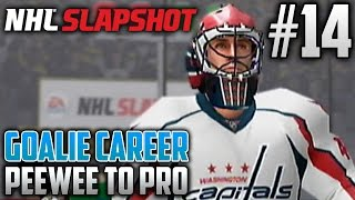 NHL Slapshot (Wii) | Peewee to Pro (Goalie Career) | EP14 | NHL DEBUT