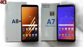 Galaxy A7 2018 vs A8+ (A8 Plus) Full Comparison