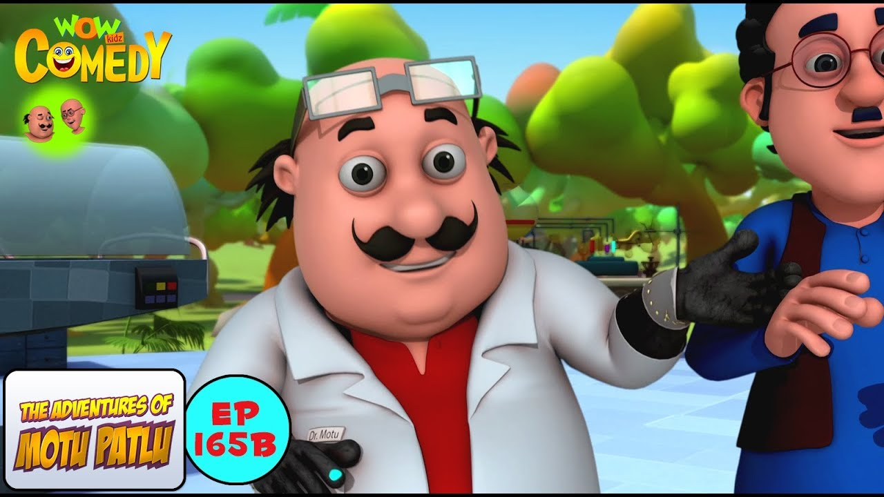 Dr Jhatka Ke Dadaji Motu Patlu In Hindi 3d Animated Cartoon