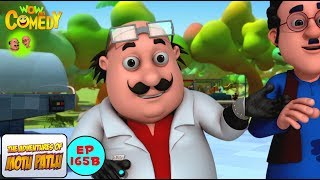 Dr.Jhatka Ke Dadaji - Motu Patlu in Hindi - 3D Animated cartoon series for kids - As on Nick