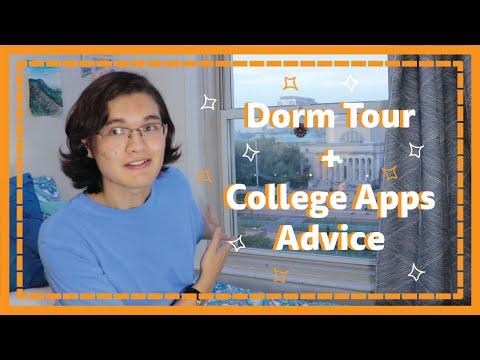 Dorm Tour + College Application Tips | Columbia University