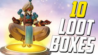 NO LEGENDARY DUPLICATES THIS TIME! (Overwatch Loot Box Opening)