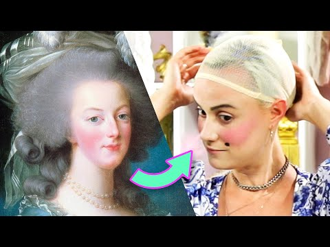 We Tried An 18th Century Makeup Look