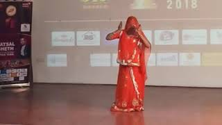 Rajsthani dance with college girl