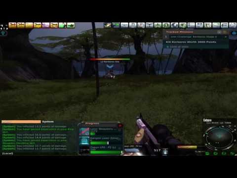 Entropia Universe - Osere 20 PED Hunt - Aug 20 Live Stream