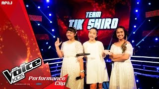 The Voice Kids Thailand - Battle Round - ขิม VS อาจิง VS ฟ้า - Best Thing I Never Had - 28 Feb 2016