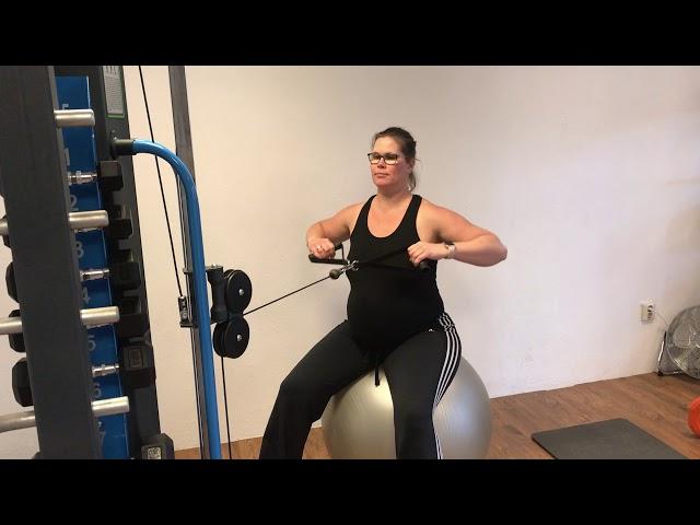 Fitness voor zwangere vrouwen