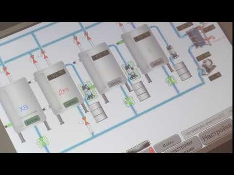 Видео для шкафа управления СИП мойкой