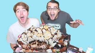 GIANT ICE CREAM SUNDAE (with SHANE DAWSON)