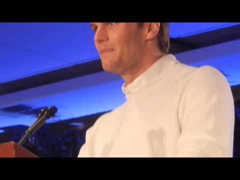 Patriots Tom Brady at Super Bowl MVP press conference