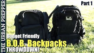 Budget Backpack Throwdown: Opmod Vs Operator (1/5) By Theurbanprepper