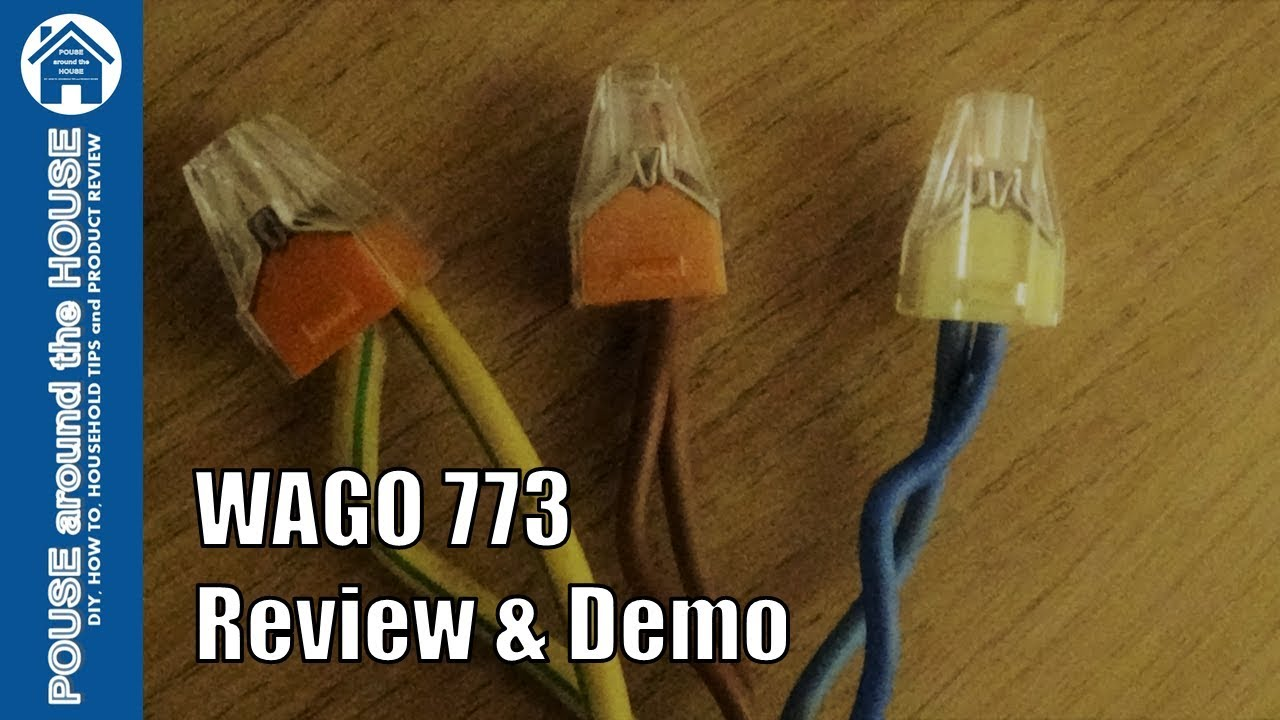 Wago 773 connectors review and demo how to use with wagobox how to use with wagobox junction box cheapraybanclubmaster Choice Image