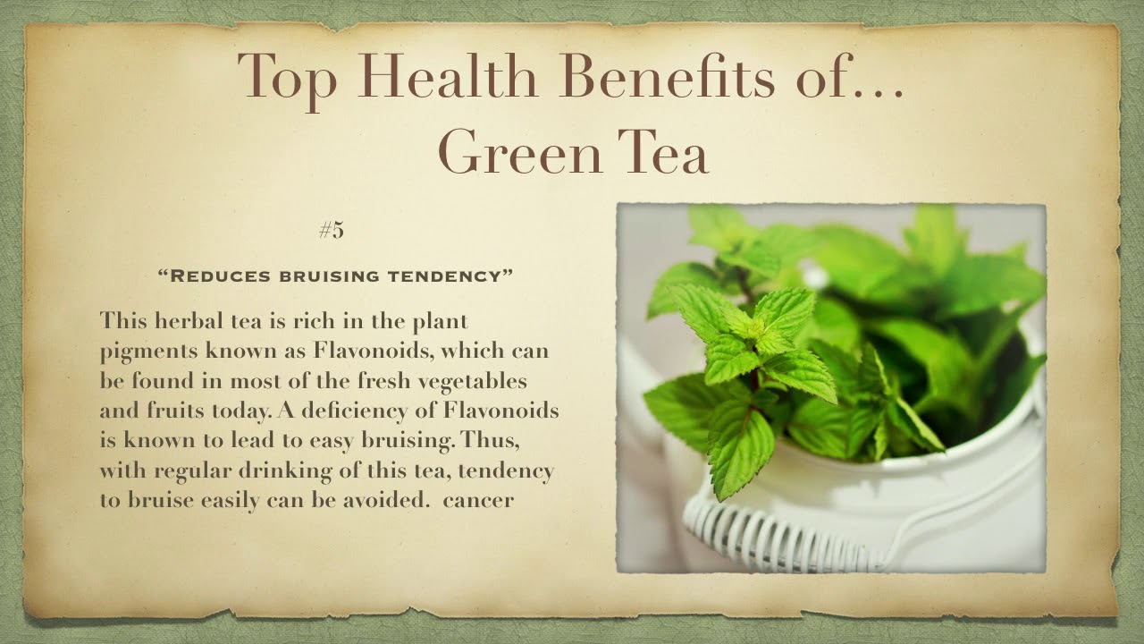 The Top Health Benefits of Green Tea