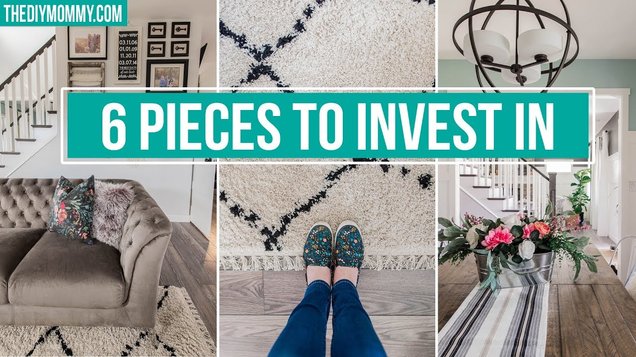 6 HOME DECOR BASICS TO INVEST IN