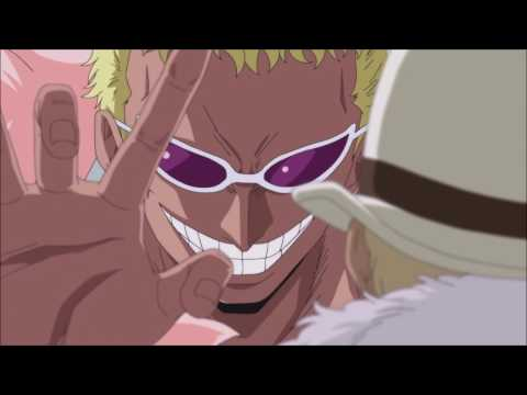 Doflamingo Threatens a Government  English Dubbed
