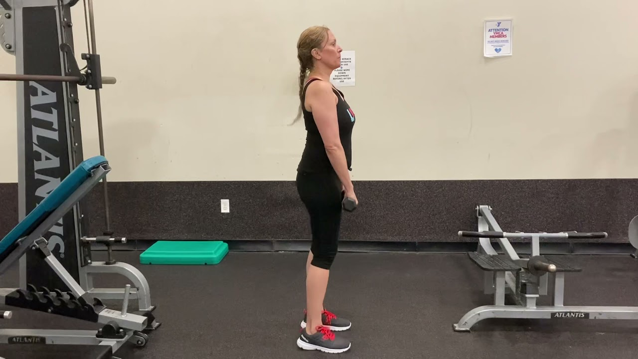 Bring the Y Home: Dumbbell Raises